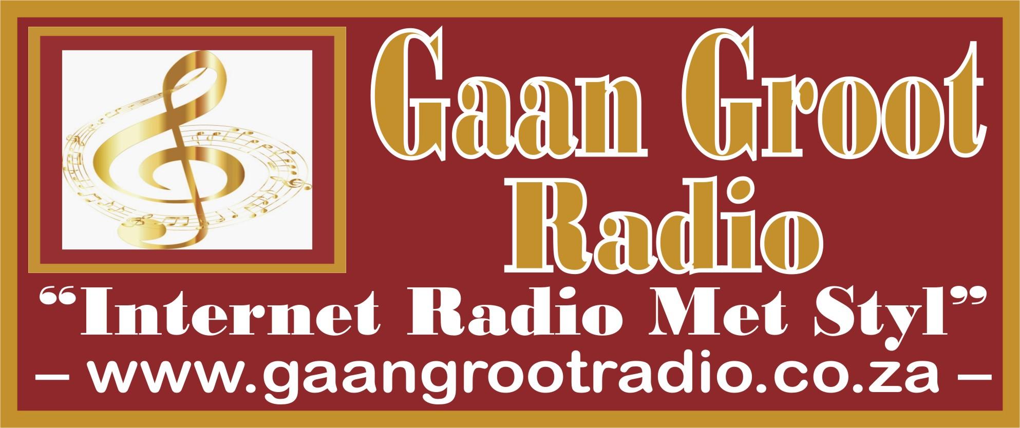 Gaan Groot Radio Banner